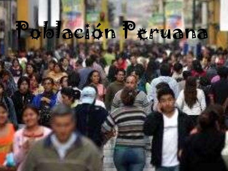 Población Peruana