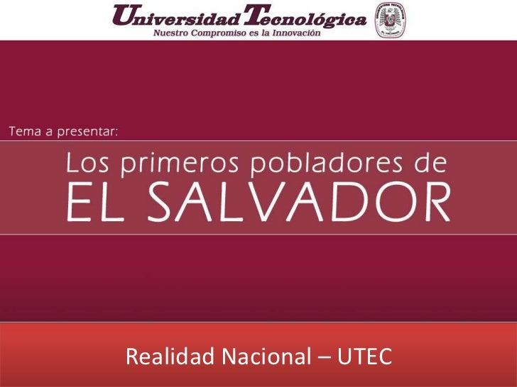Realidad Nacional – UTEC