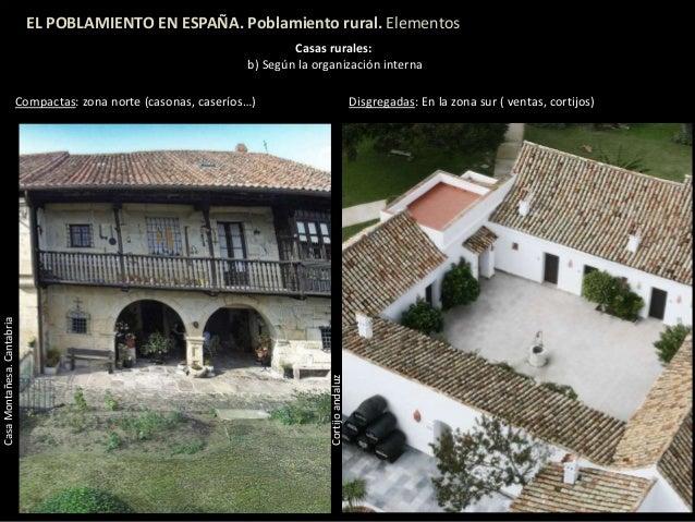 Poblamiento ii espa a - Casas rurales en el norte de espana ...