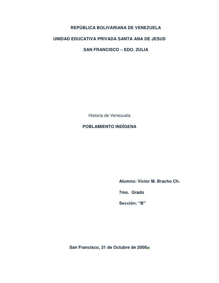 REPÚBLICA BOLIVARIANA DE VENEZUELAUNIDAD EDUCATIVA PRIVADA SANTA ANA DE JESUS            SAN FRANCISCO – EDO. ZULIA       ...