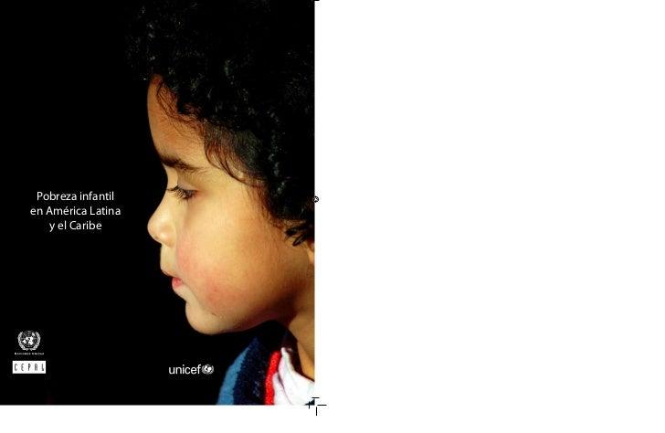 Pobreza infantilen América Latina    y el Caribe