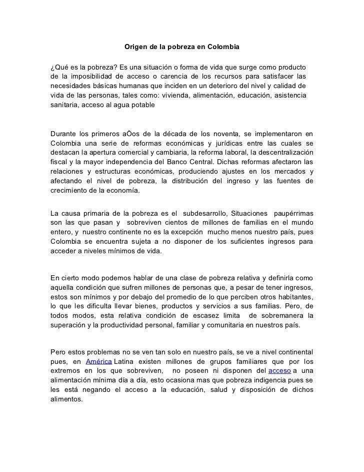 Pobreza y miseria en colombia - Como solucionar problemas de condensacion en una vivienda ...