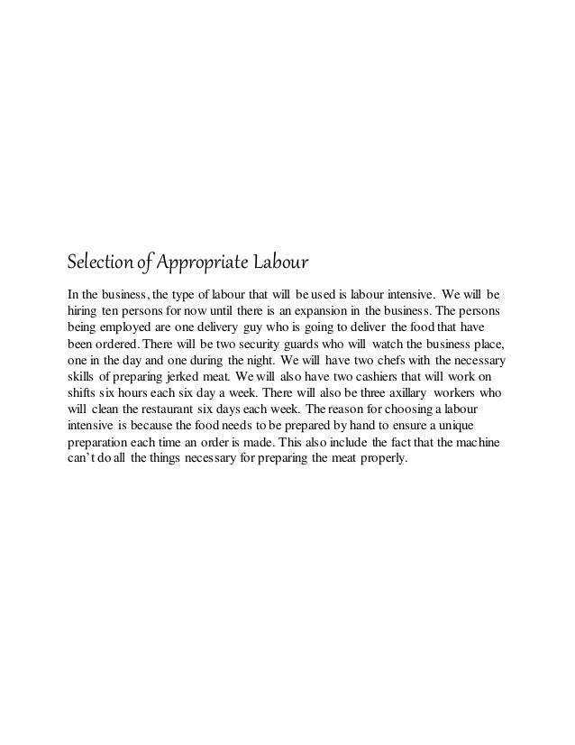 """pob sba justification of location and type of labour 3 justification of location """"sse grocery delivery service"""" will be located at shop # 4 selection of appropriate sources of labour because of the technological needs and the need for 5 sources of fixed and working capital type of capital source amount use fixed loan."""