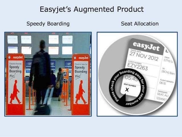 Easyjet's Augmented Product  Speedy Boarding Seat Allocation