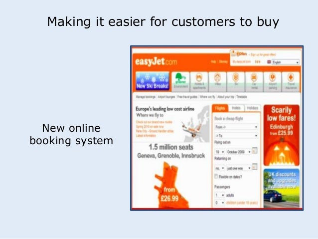 Making it easier for customers to buy  New online  booking system