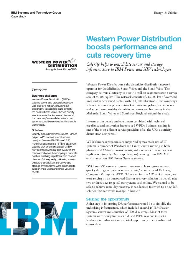 IBM Systems and Technology Group                                                                                   Energy ...