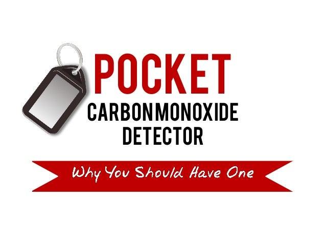 Pocket CarbonMonoxide Detector