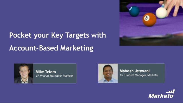 Pocket Your Key Targets with Account Based Marketing