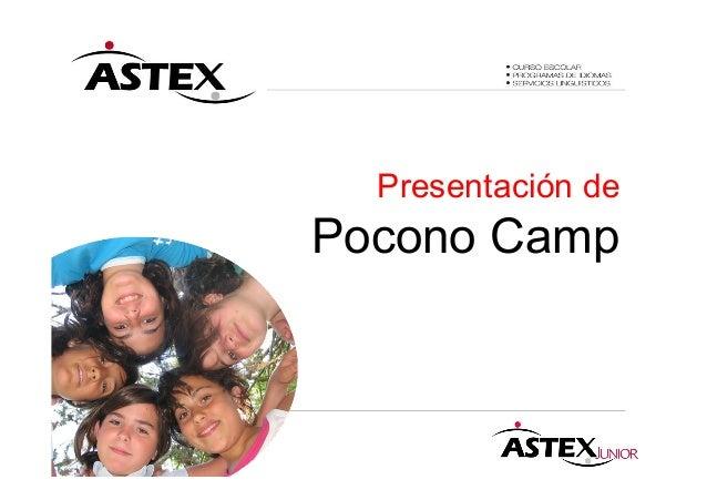 Presentación de Pocono Camp
