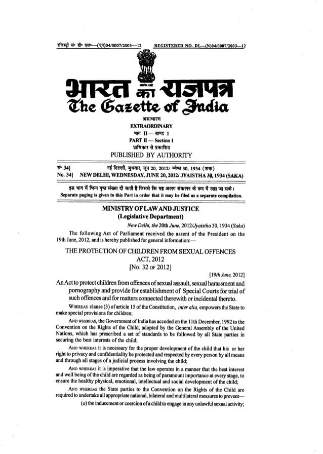 Sexual offence notification act