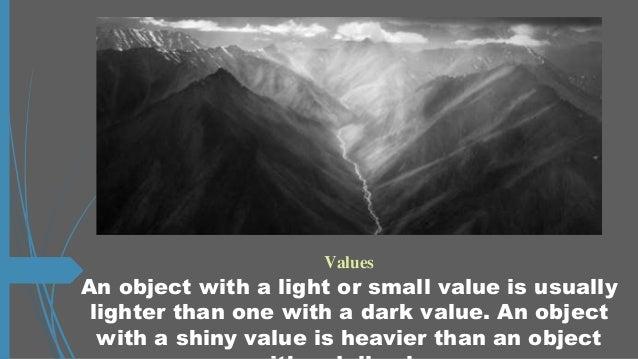 Principles Of Design Value : Principles of design