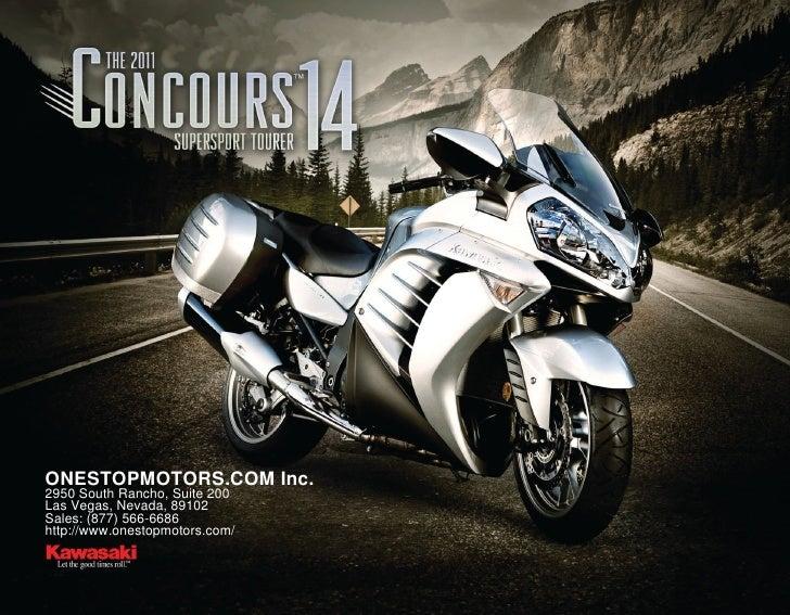 2011 Kawasaki Concours 14 ABS – OneStopMotors.com Las Vegas, NV