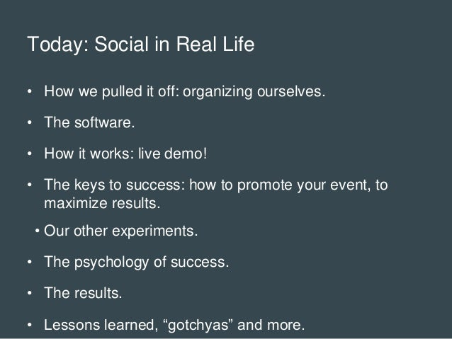 Social Media in Real Life: How YorkU won gold by bringing social to live events Slide 2