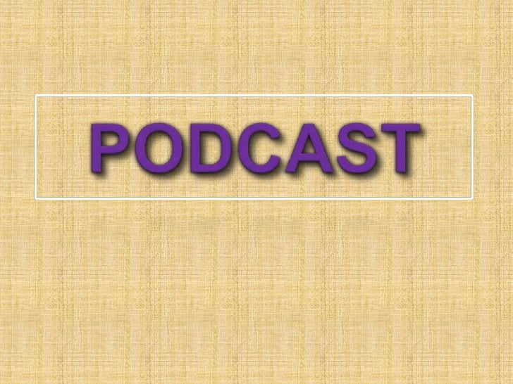 PODCAST<br />