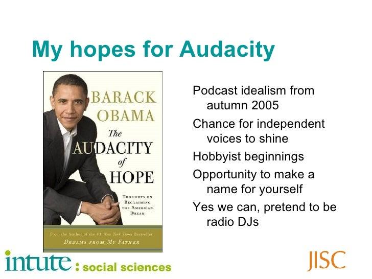 My podcasting life Slide 2