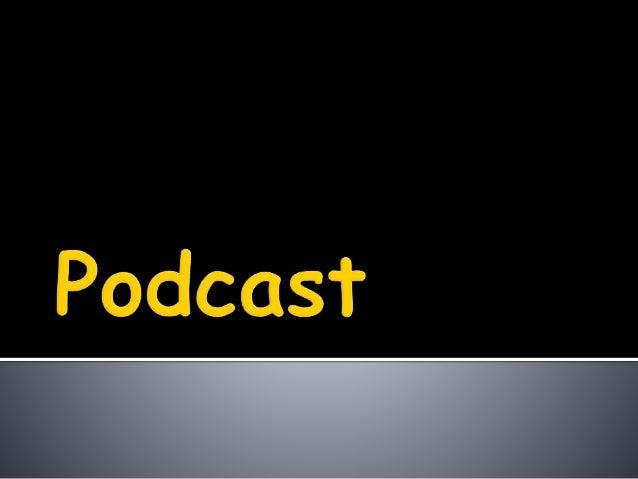  Un podcast es un archivo de audio gratuito, que puedes descargar y oir en tu ordenador o en un reproductor MP3, como un ...