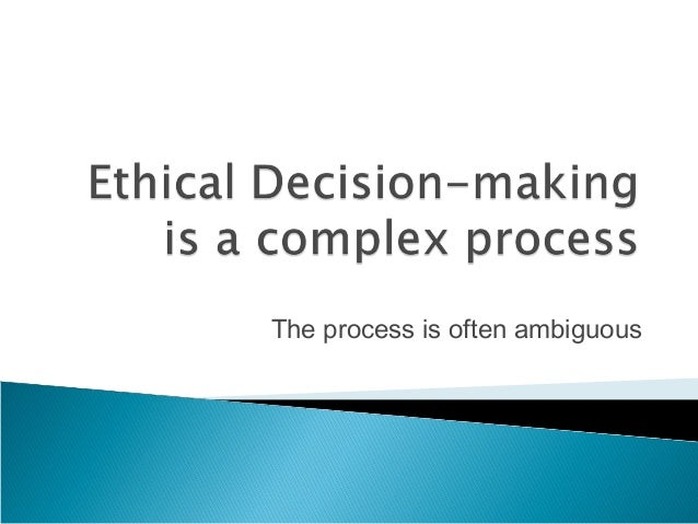 contrast the three ethical decision criteria The next step in the rational decision-making process is to identify the decision criteria this step deals with choosing variables that will determine the decision outcome.