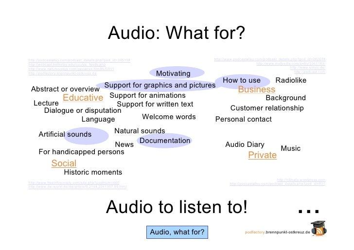 Advantage Audio (Part I) Slide 2