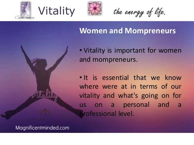Vitality health final paper essay