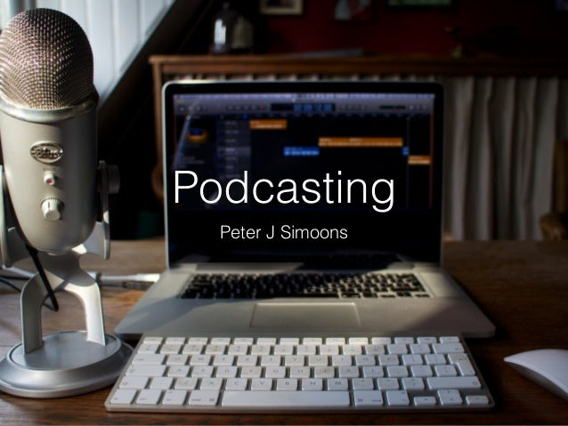 Podcasting Peter J Simoons