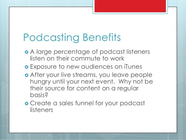 how to create a live podcast