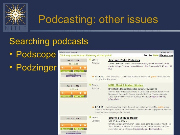 Podcasting intro for Union College