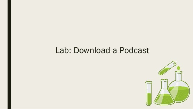 Join a Revolution: Podcasting in the Classroom GOOGLE STYLE