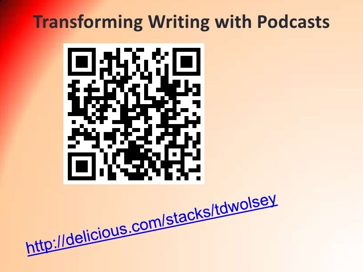 Transforming Writing with Podcasts