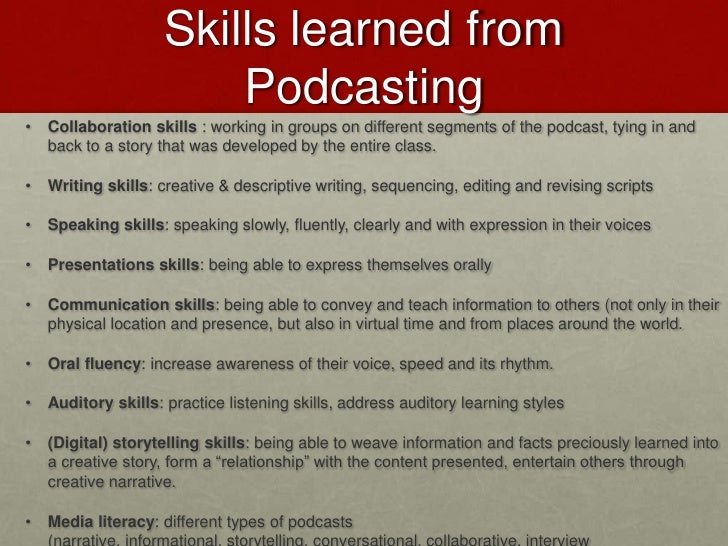 Podcasting rss for Podcast template script