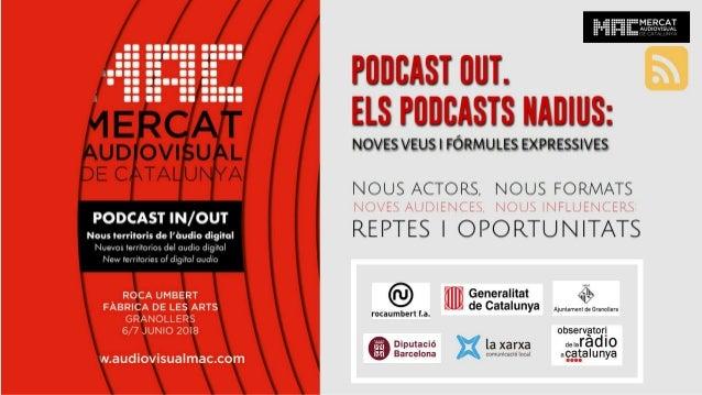 Podcast OUT / Podcast nativos en debate @ MAC 2018 / Webinar Series Radio 2.0 con Podium Podcast Cuonda iVoox Nacion Podca...