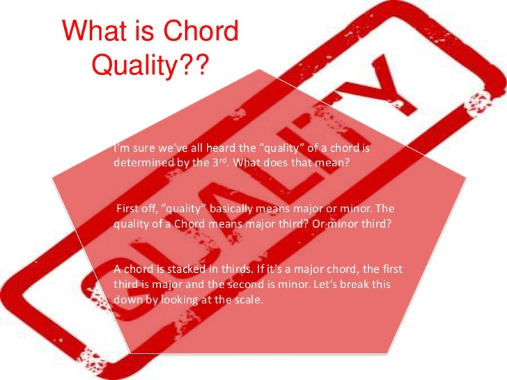 Building Chords