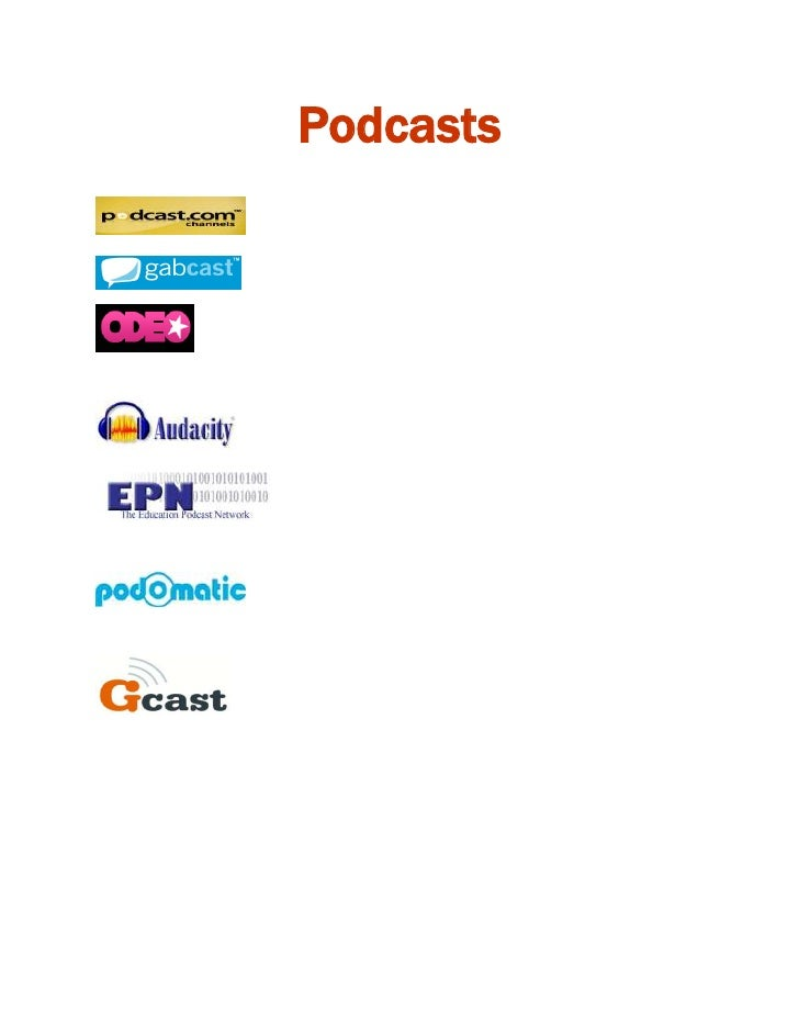 Podcasts<br />