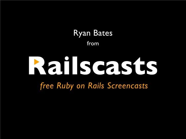Podcast & Screencasting On Rails