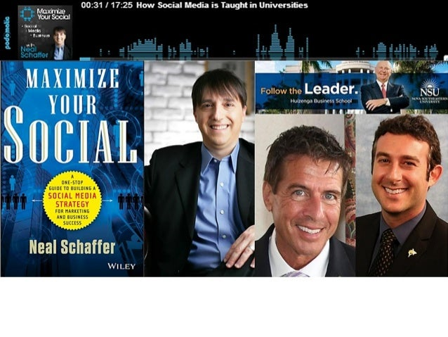 Podcast with neal schaffer pdf