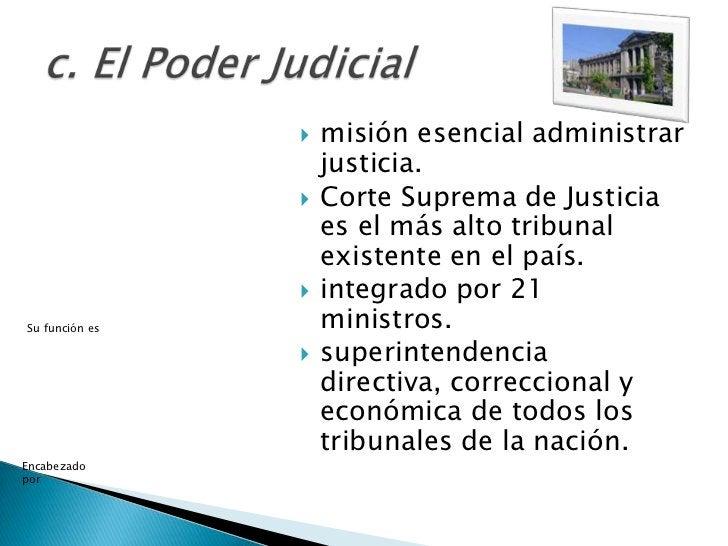    misión esencial administrar                    justicia.                   Corte Suprema de Justicia                 ...