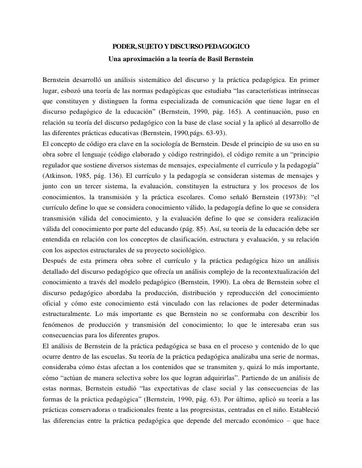 "HYPERLINK "" http://soliloquio.lacoctelera.net/post/2008/11/01/poder-sujeto-y-discurso-pedagogico""  o "" Enlace permanente ..."