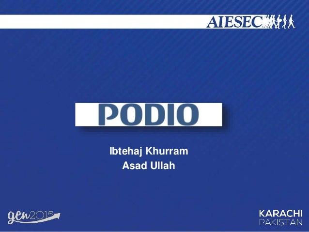 Ibtehaj Khurram Asad Ullah