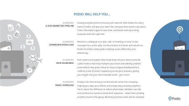 Using Podio for CRM - Benefits & Testimonials Slide 2