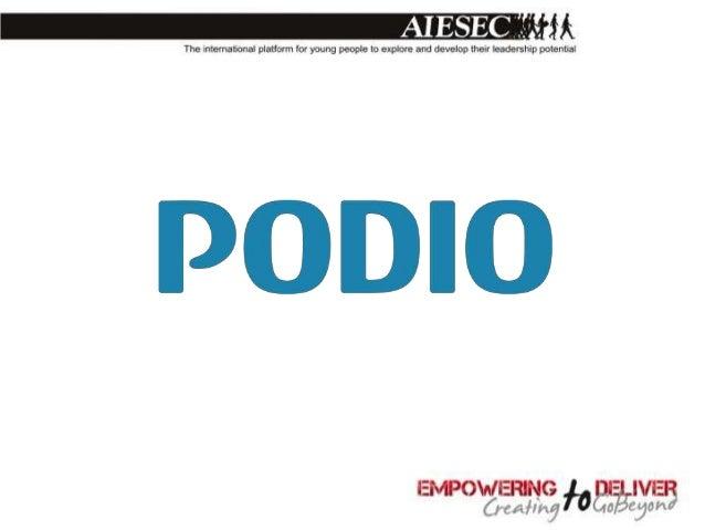Podio - Similar to Facebook•   Similar Interface•   Activity Stream•   Status Update Bar (@ tagging)•   Messaging•   Conta...