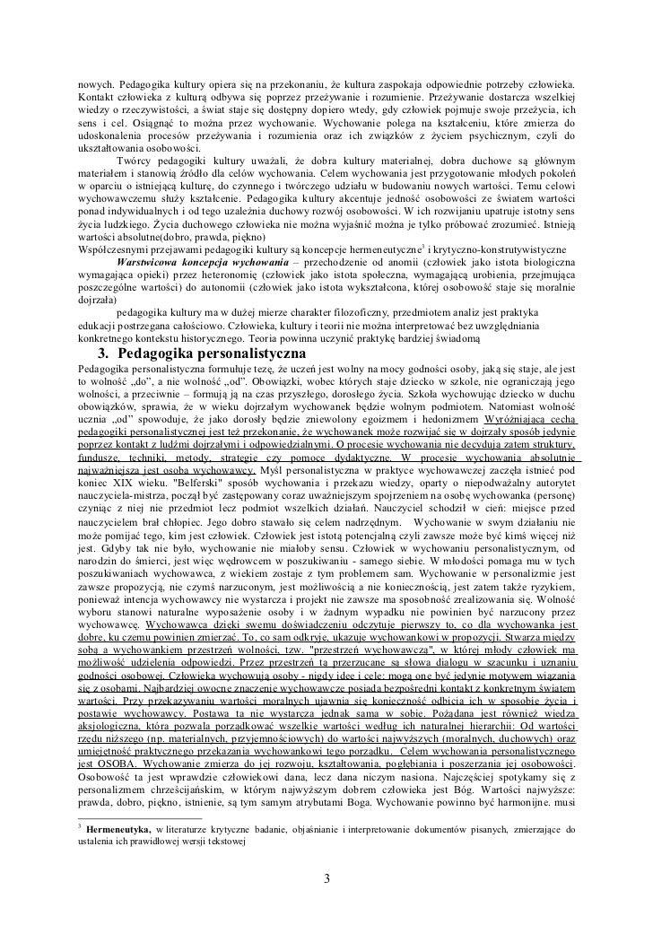 Pedagogika -  Z. Kwieciński, B. Śliwerski Slide 3