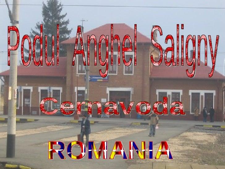 Podul  Anghel  Saligny Cernavoda ROMANIA