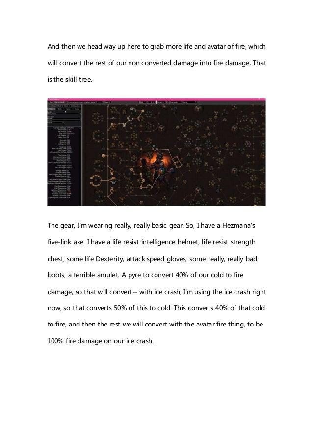 POE 3 2 Chieftain or Juggernaut Starter Build Guide