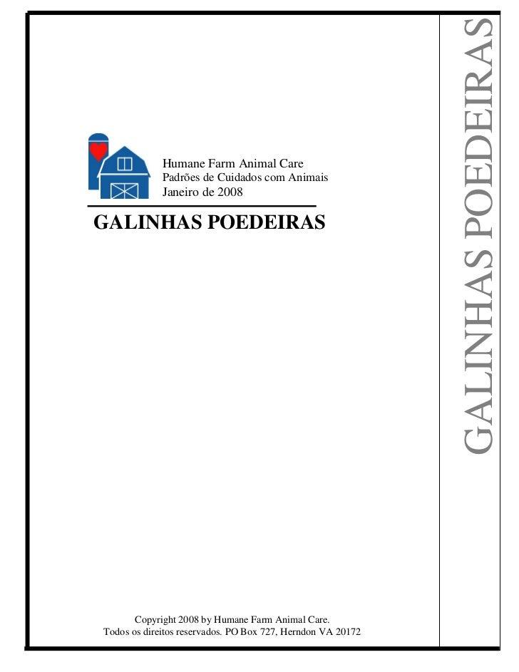 -------                                                             GALINHAS POEDEIRAS             Humane Farm Animal Care...