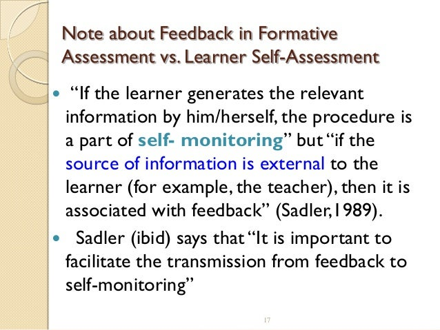 Self-Assessment of Foreign Language Skills: Implications for Teachers and Researchers