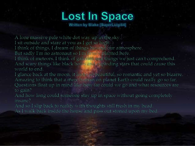 astronomy poems that rhyme - photo #5