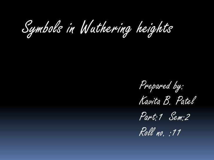 Symbols In Wuthering Heights