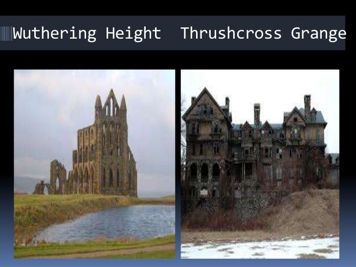 wuthering heights vs grange The twin houses of emily bronte's 'wuthering heights,' wuthering heights and thrushcross grange, could not be more different the differences in.