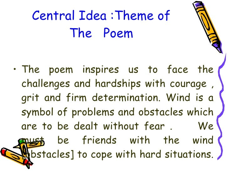 Poem wind