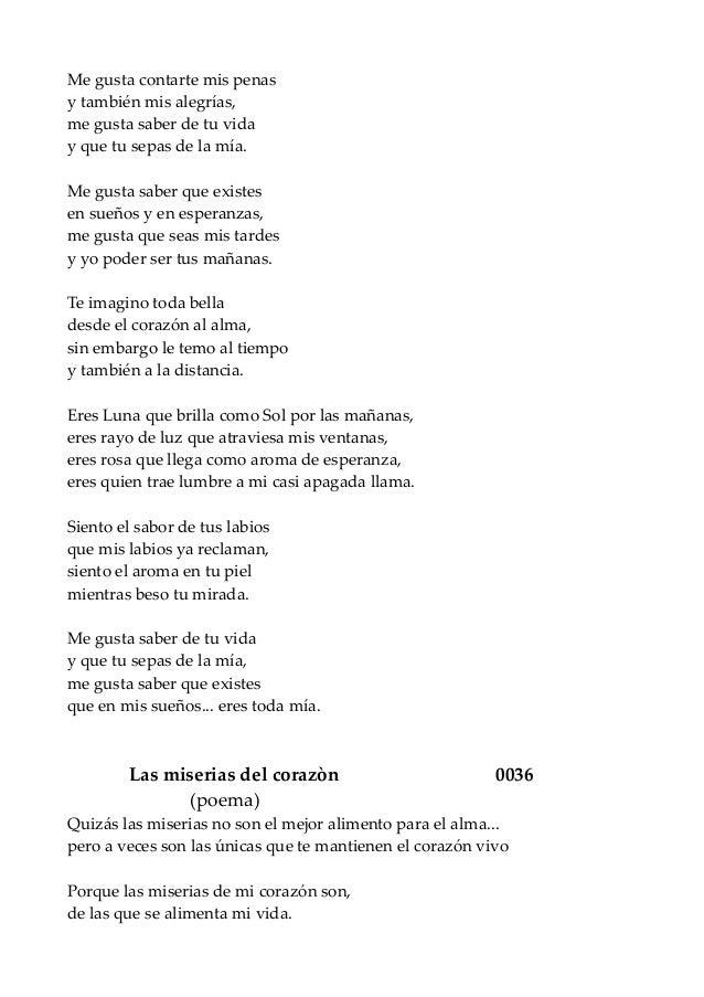 Poema Los Riesgos De Mi Vida