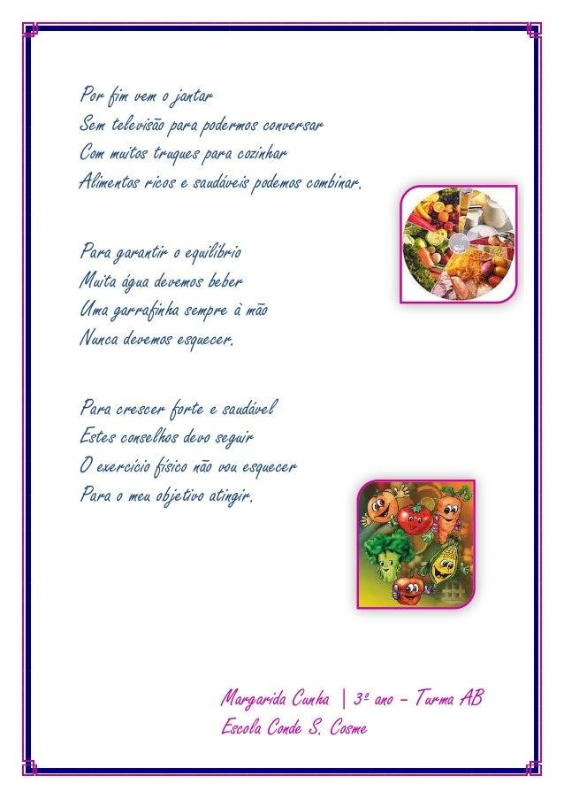 Well-known Poema a alimentação_margarida_cunha VN61
